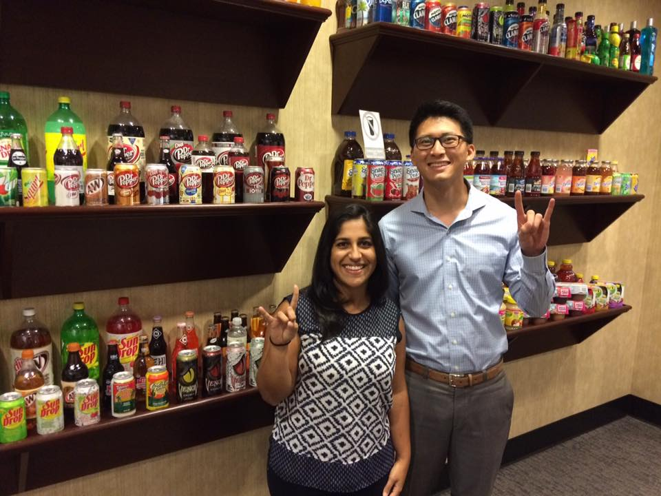 Texas Full-Time MBAs Moni Jane and Kevin Chen Interning at the Dr Pepper Snapple Group