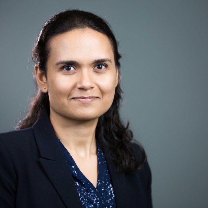 Texas MBA student Upasana Bhattacharya
