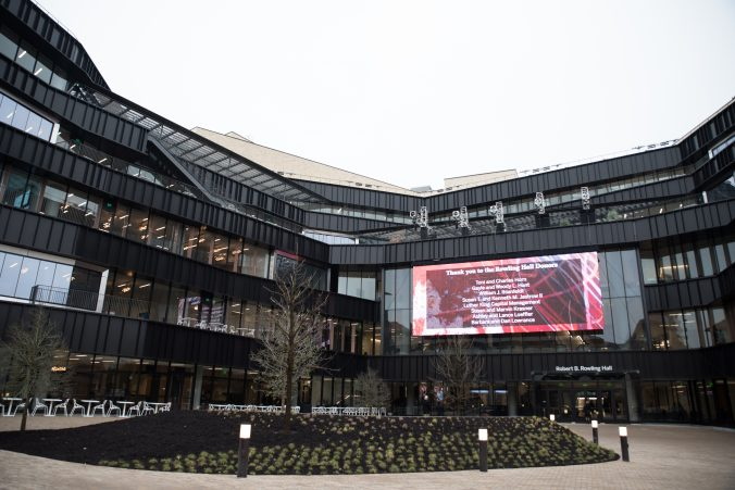Texas McCombs School of Business celebrates the grand opening of Robert B. Rowling Hall on February 22, 2018. Photo by Lauren Gerson DeLeon.