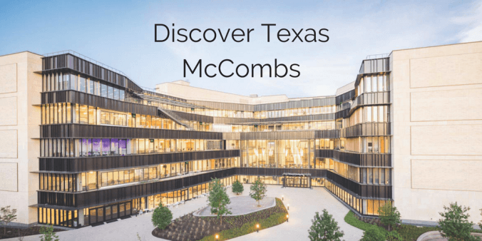 Discover Texas McCombs