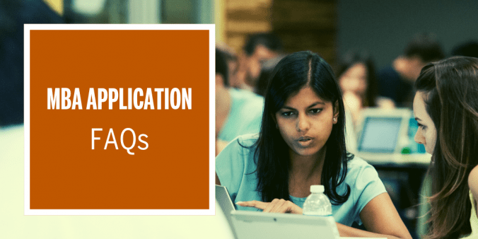 MBA Application FAQs