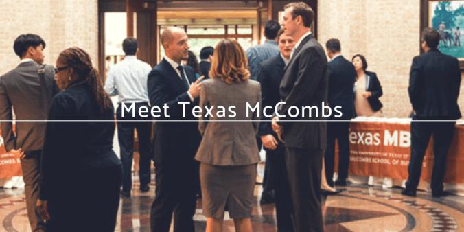 Meet Texas McCombs