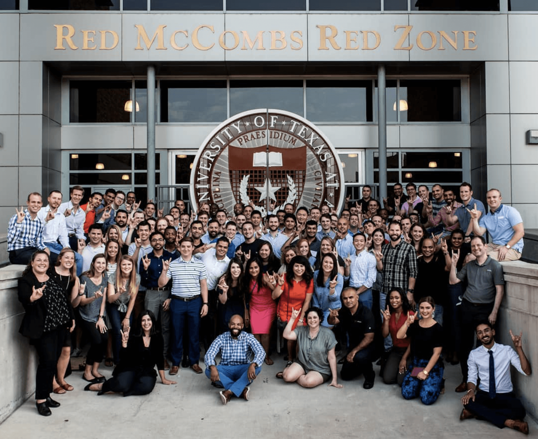 Texas McCombs MBA at DFW class of 2020
