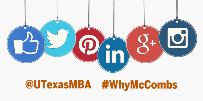 follow @utexasmba on social media for all the reasons #WhyMcCombs