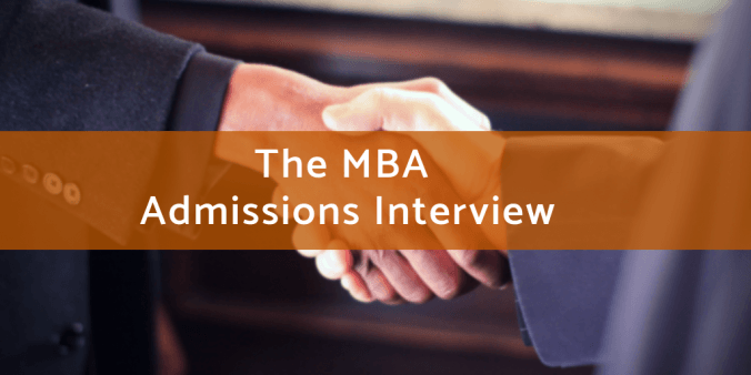The MBA Admissions Interview