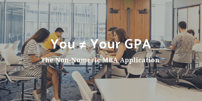 The Non-Numeric MBA Application