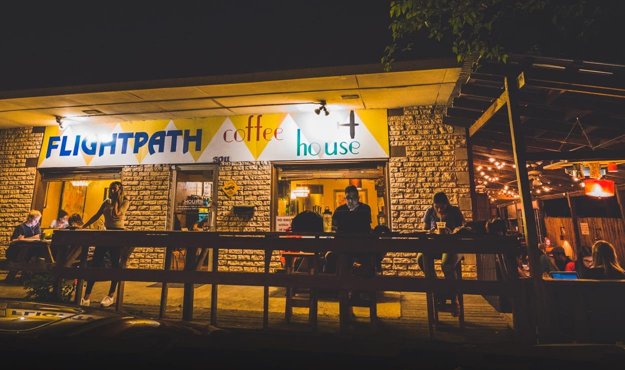 Flightpath Coffeehouse exterior