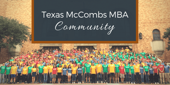 Texas McCombs MBA Community