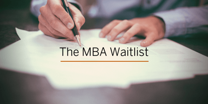 The MBA Waitlist