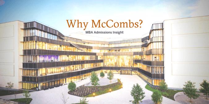 why mccombs?