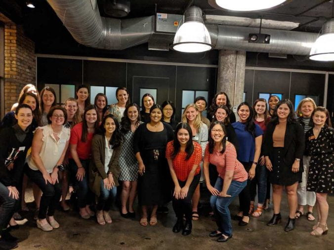 mba women students and staff at forte conference this summer in Chicago