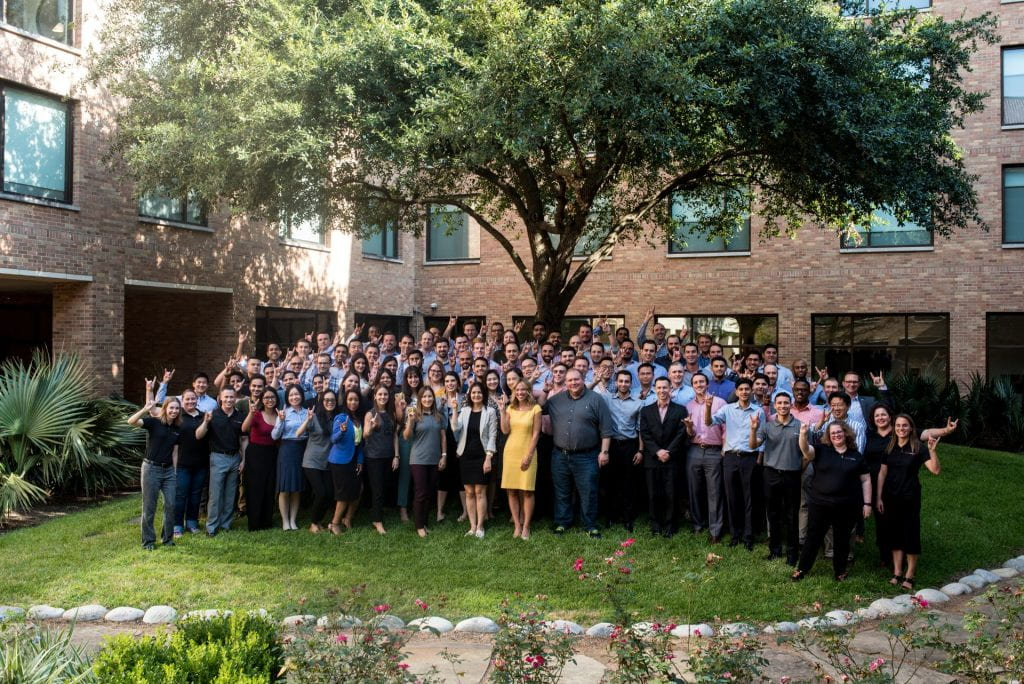 Group photo of the Houston Class of 2021.