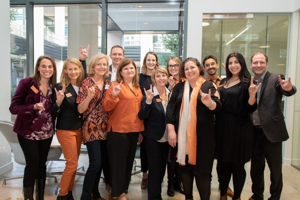 The amazing staff from the Texas McCombs Dallas/Fort Working MBA program.