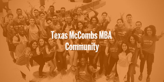 Texas McCombs MBA Community
