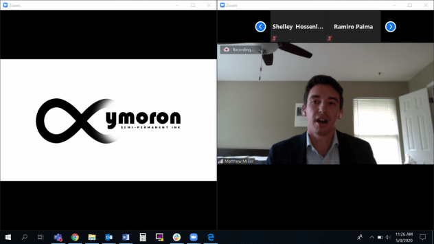 Oxymoron Ink winner of 2020 Spring TVLIC