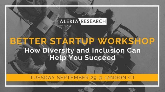workshop for startups on diversity and inclusion