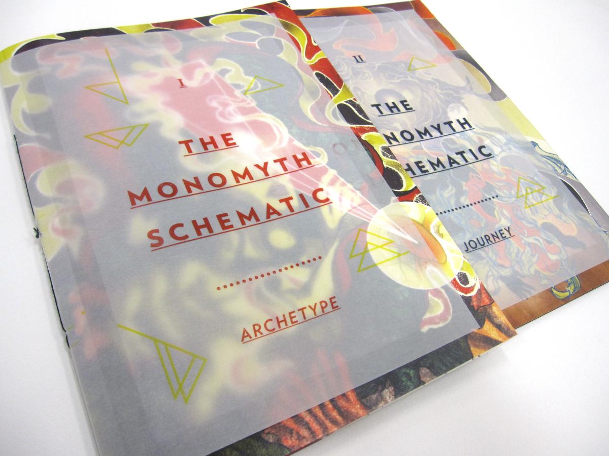 The Monomyth Schematic Redux at NTU ADM Portfolio