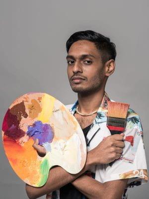 V Vimal Kumar at NTU ADM Portfolio