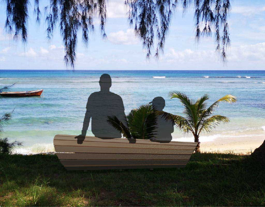 As It Flows Away: A Communal Furniture Informed by The Deprivation of the Mauritian Beach at NTU ADM Portfolio