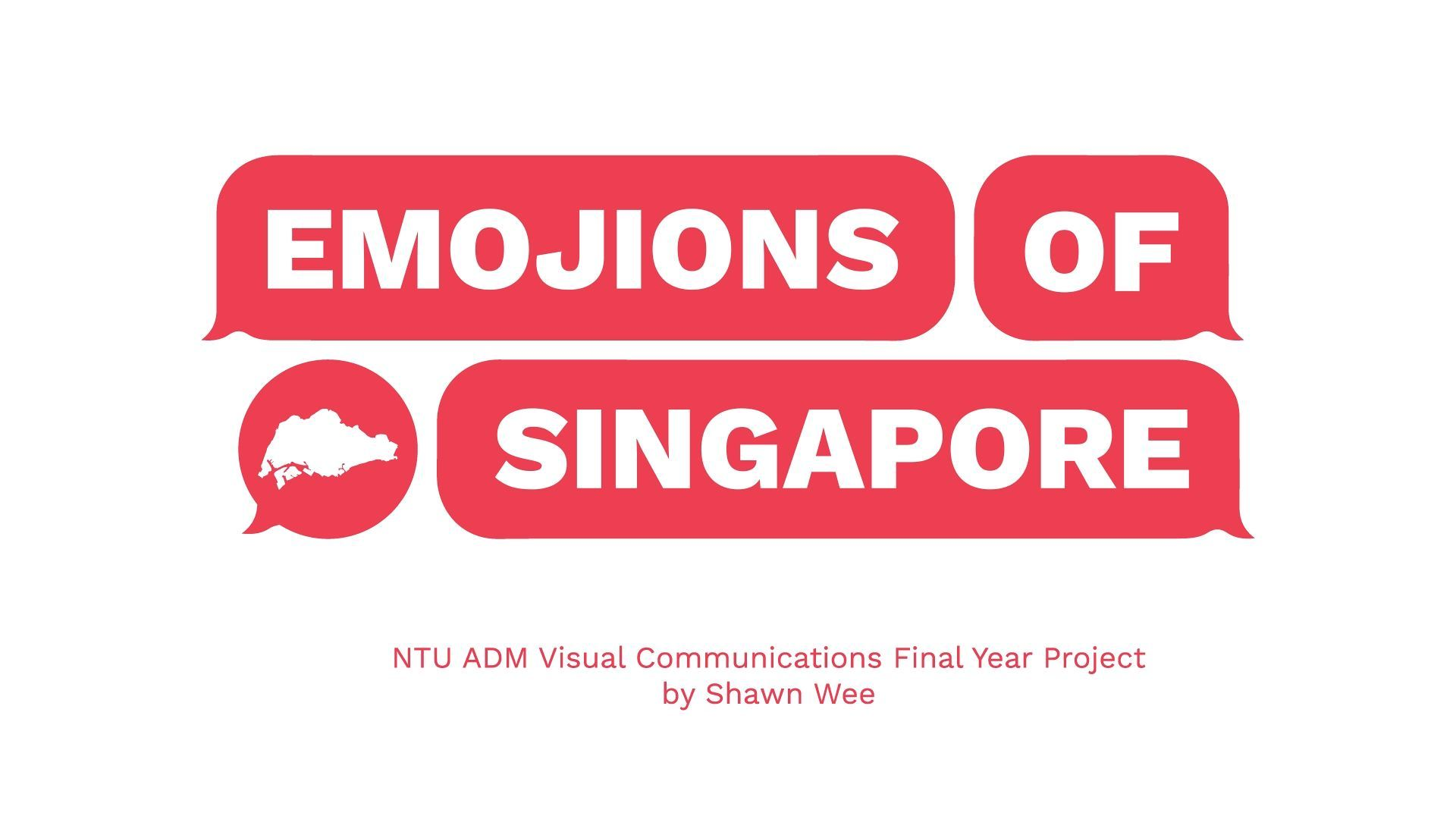 Emojions of Singapore at NTU ADM Portfolio