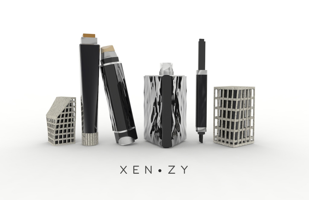 Xenzy - Men Cosmetics at NTU ADM Portfolio