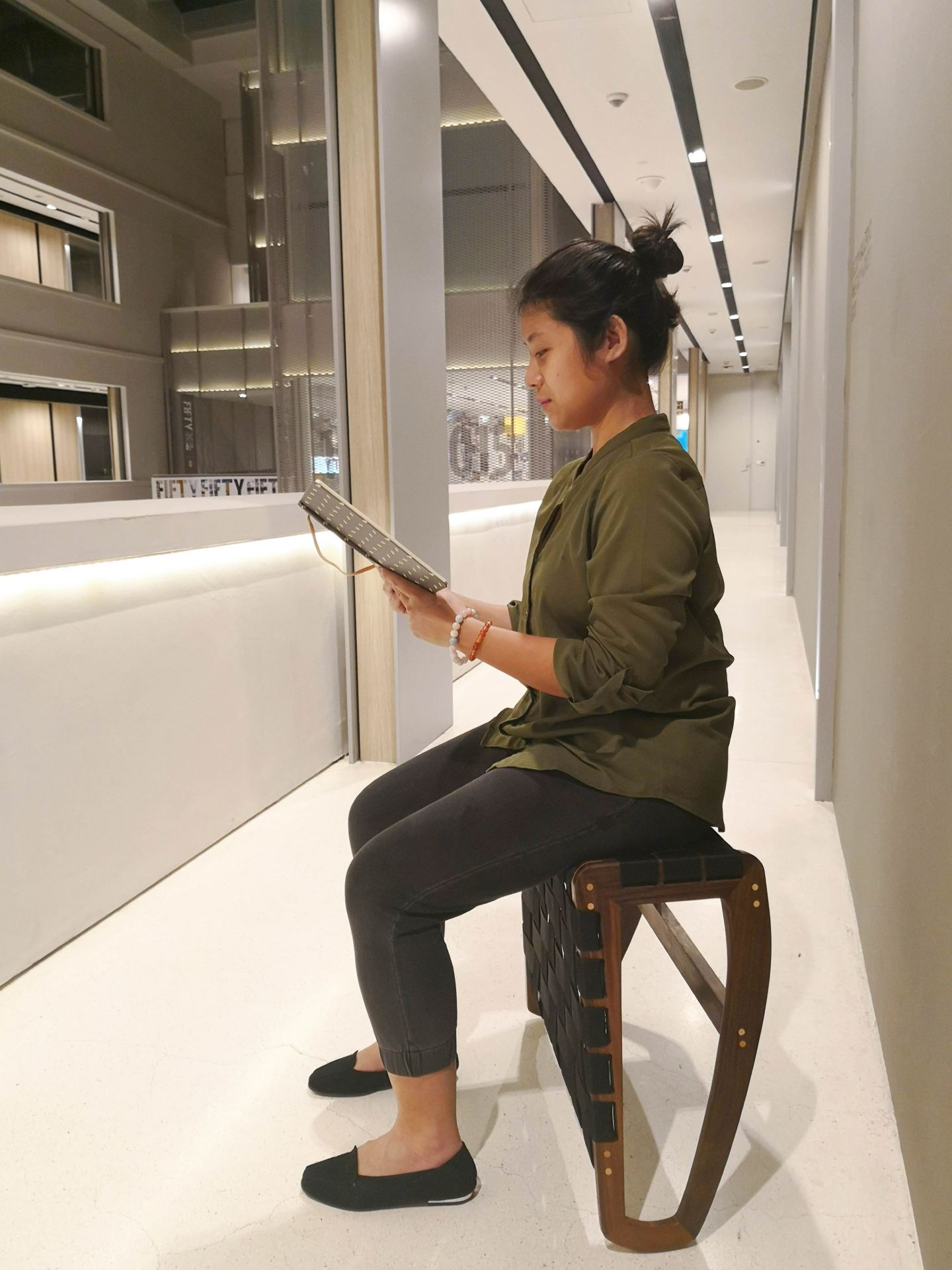 Mindful Sitting - BALANCE Stool at NTU ADM Portfolio