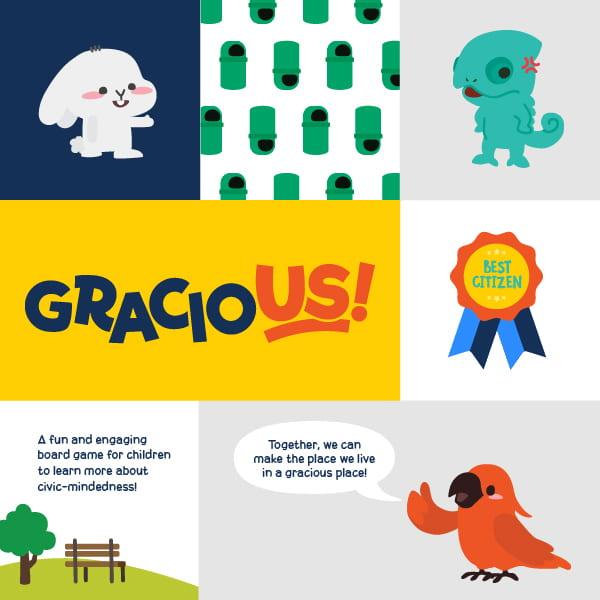 Gracious at NTU ADM Portfolio