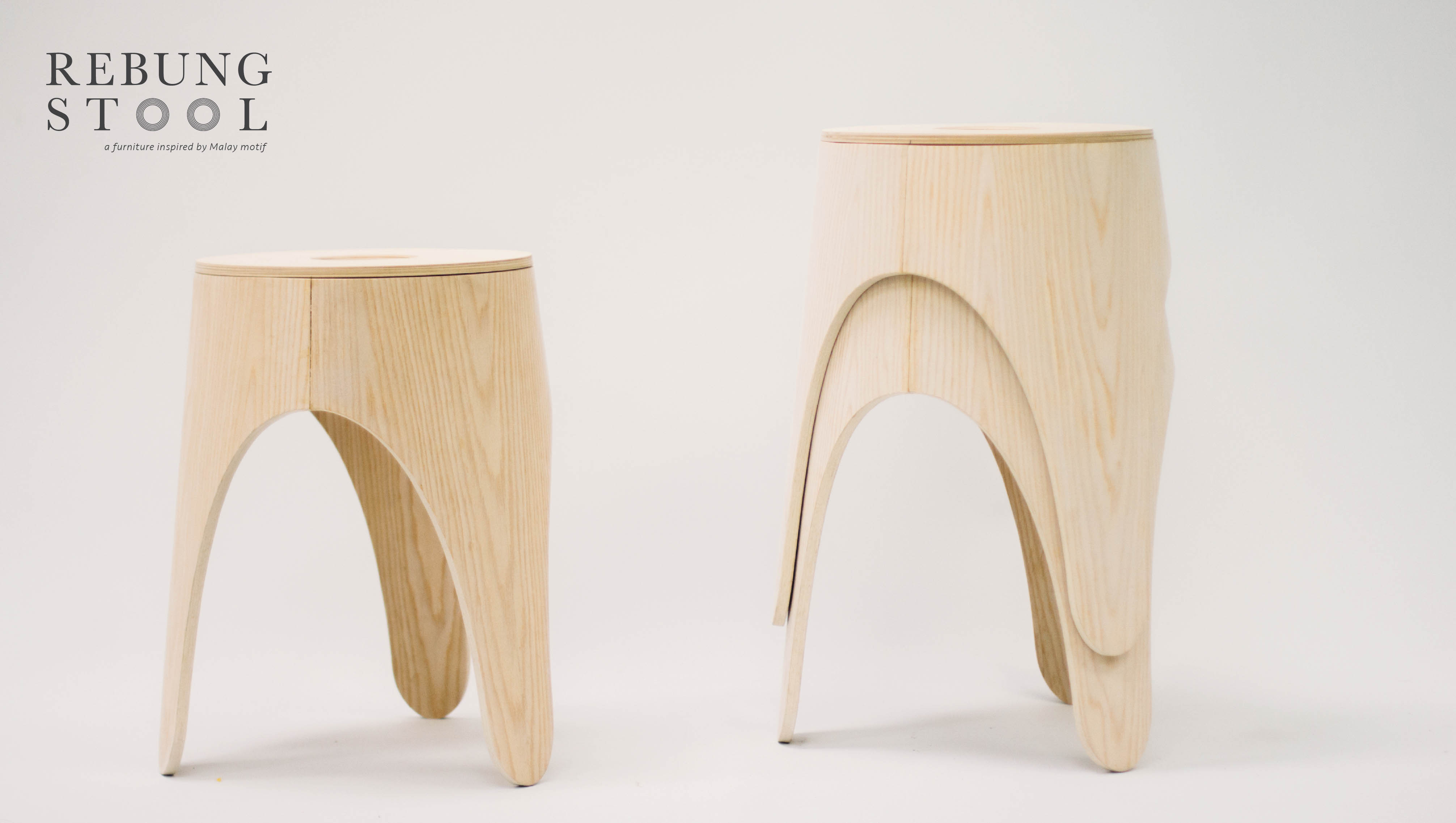 Rebung Stool at NTU ADM Portfolio