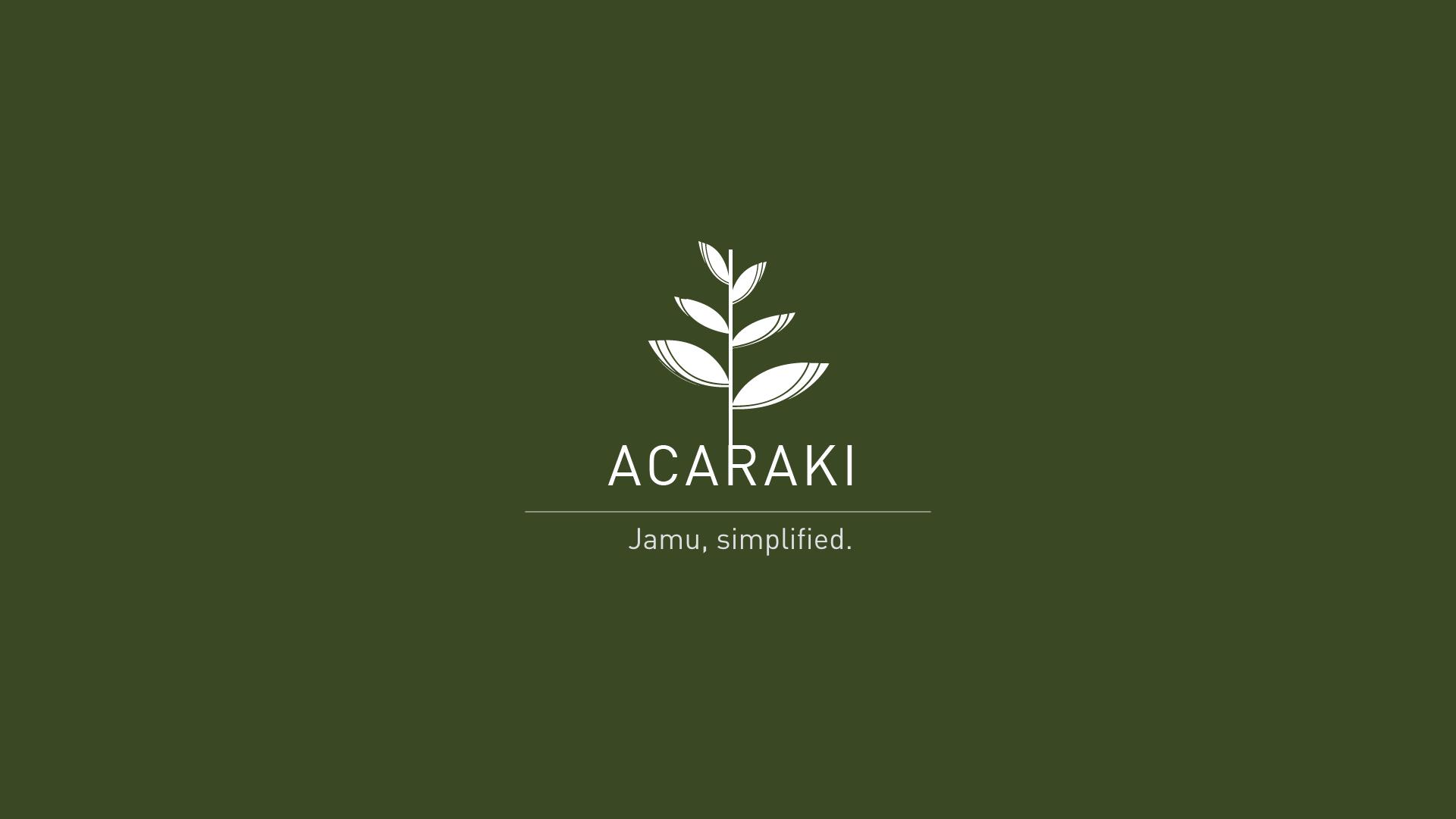 Acaraki at NTU ADM Portfolio