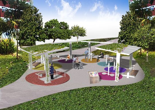 Revitalising Senior Fitness: Reimagining outdoor fitness corners at NTU ADM Portfolio