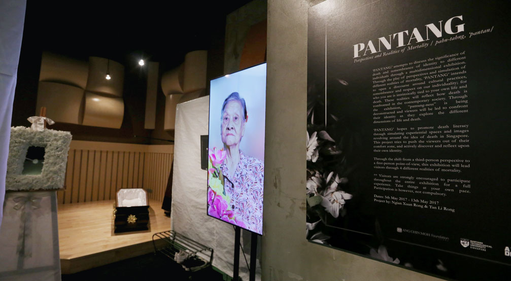 Pantang - Perspectives and Realities of Mortality at NTU ADM Portfolio