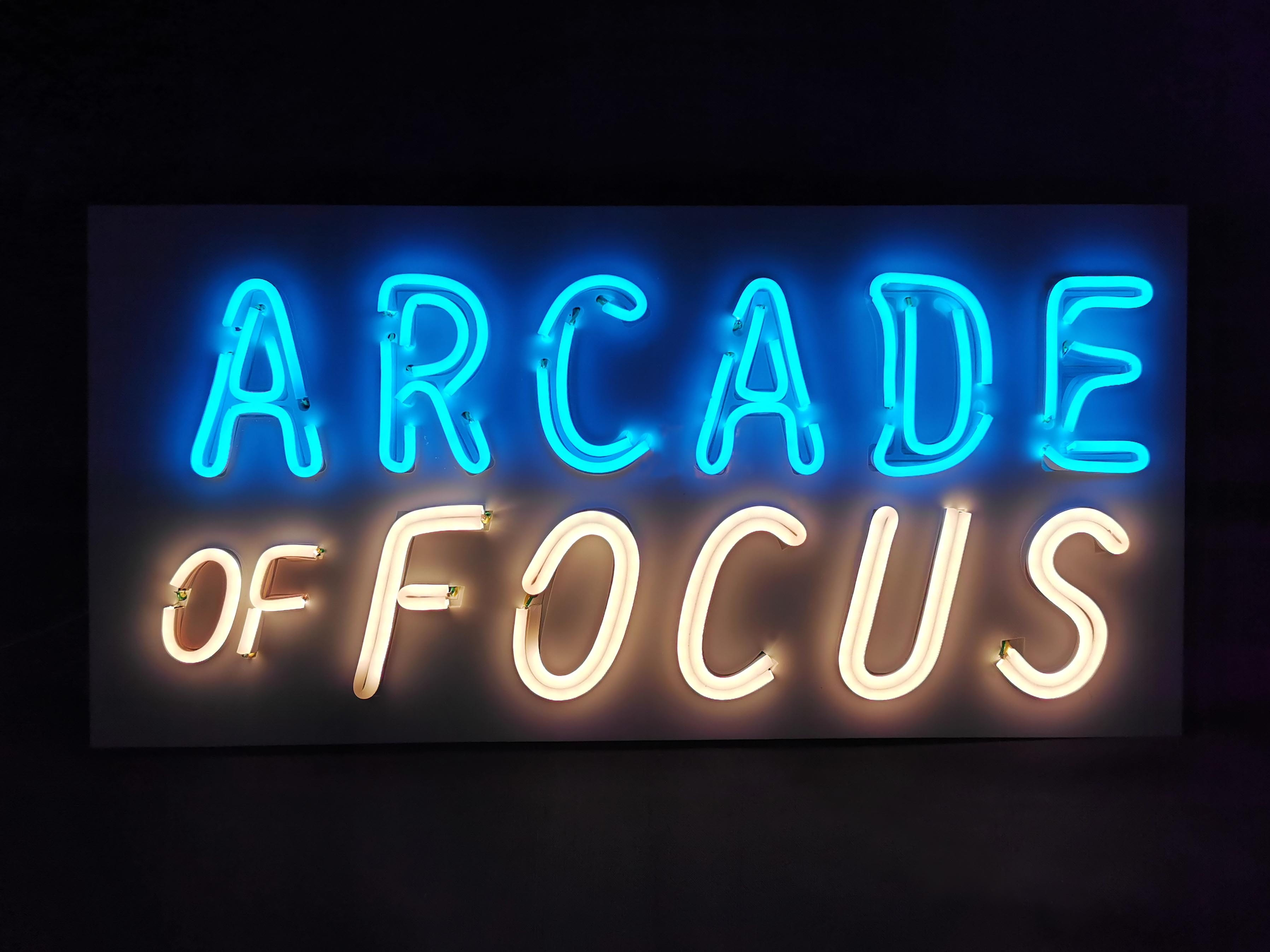 Arcade of Focus at NTU ADM Portfolio
