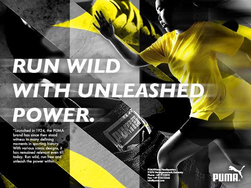 Brand Advertising - PUMA at NTU ADM Portfolio
