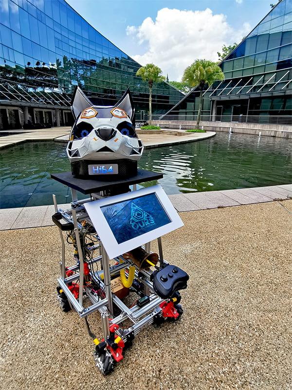 Omni Utility Robotic System (O.U.R.S) at NTU ADM Portfolio