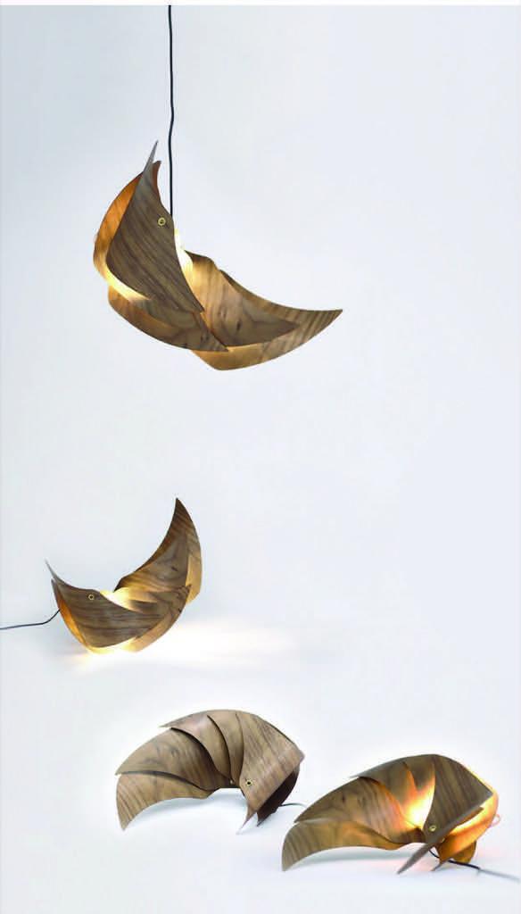 Bon vivant lamp at NTU ADM Portfolio