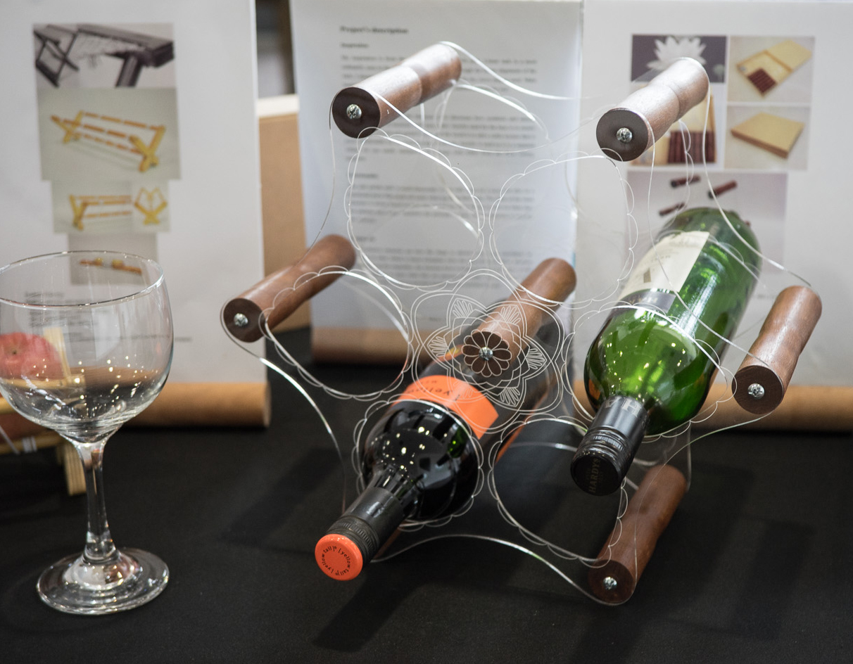 """Playful Wine Rack"" at NTU ADM Portfolio"