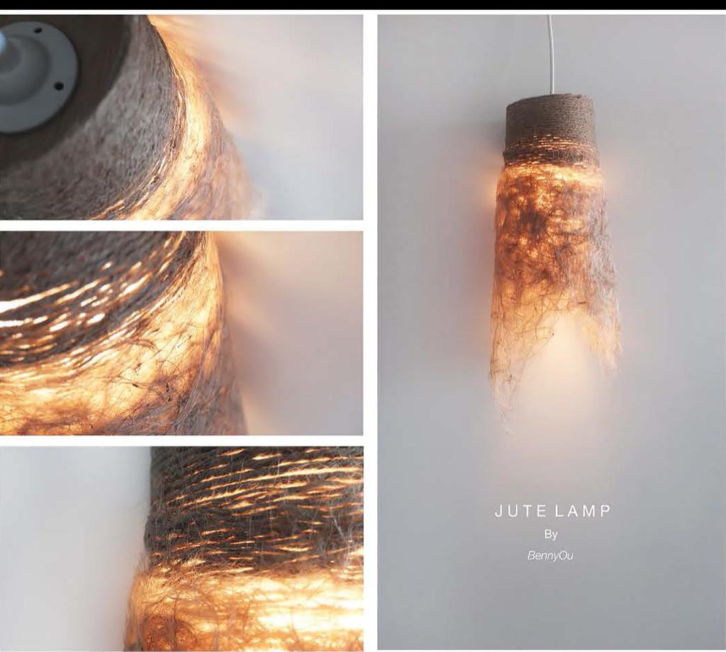Jute Lamp at NTU ADM Portfolio