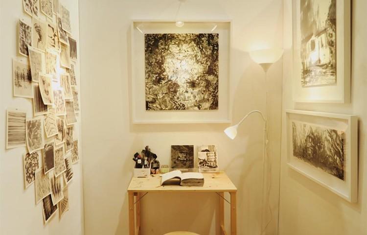 Rhythm Of Textures In Ink & Wash Painting at NTU ADM Portfolio