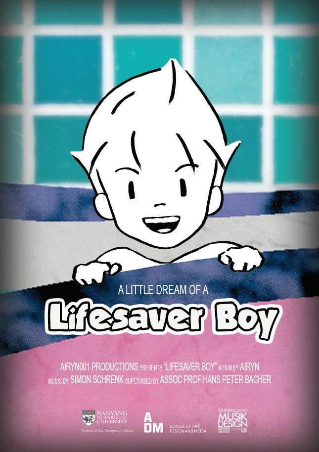 Lifesaver Boy at NTU ADM Portfolio