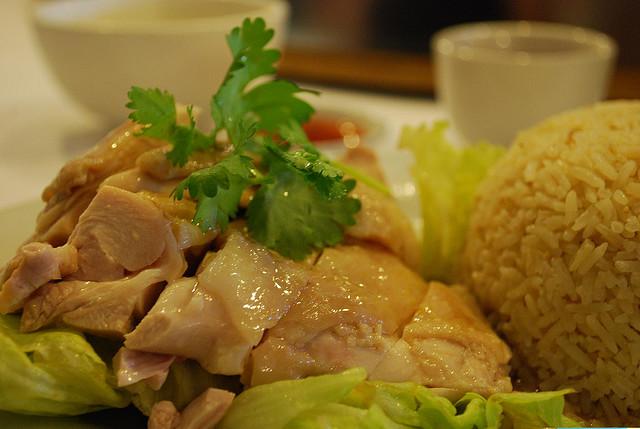 (Food) Hainanese Chicken Rice