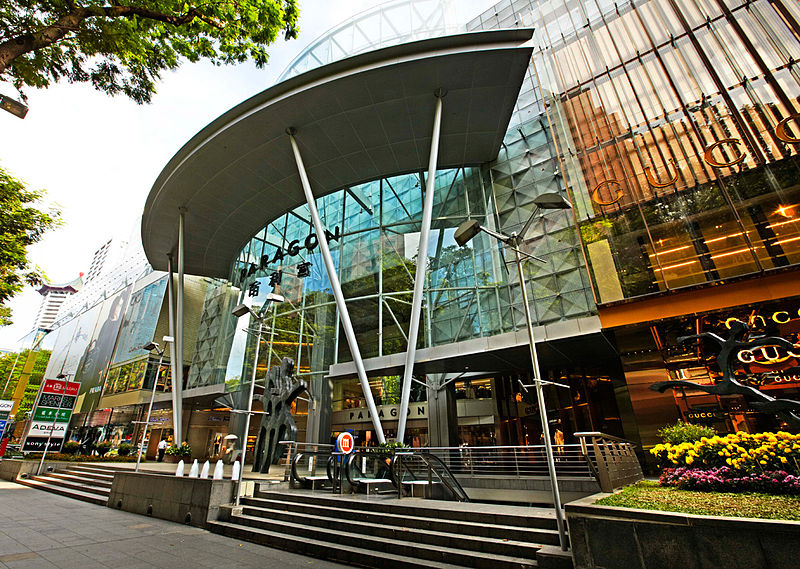Shopping Mall) Paragon Shopping Centre | IATUL 2012
