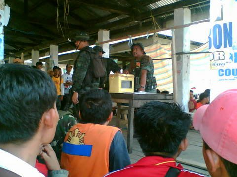 A photo I took when I covered the special elections in Lanao Del Sur in May 2007