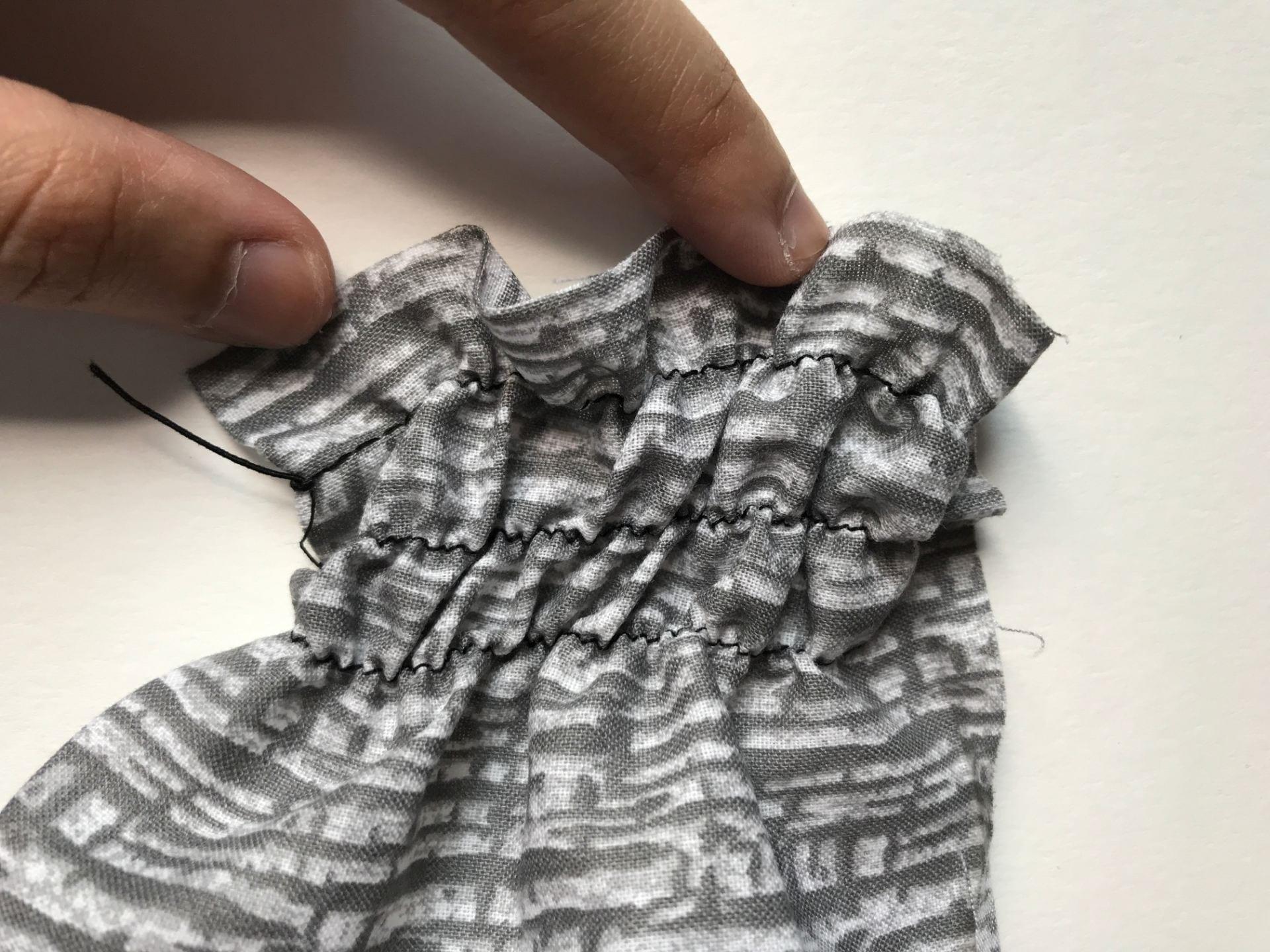 Lesson 6 Fabric Manipulation Shirring Ummi Kaltsum