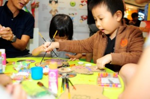 Recycle Craft Workshop for kids at CGS  SouthEast carnival