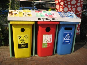 Recycling Bins in Singapore Source:http://oliveventures.com.sg