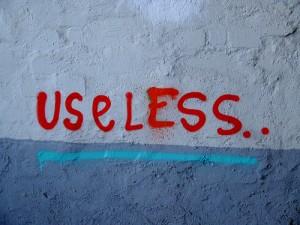 Use Less.  Source: bamboozo.com
