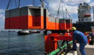 Figure 16: Testing of Drakoo in Singapore waters in November 2012.