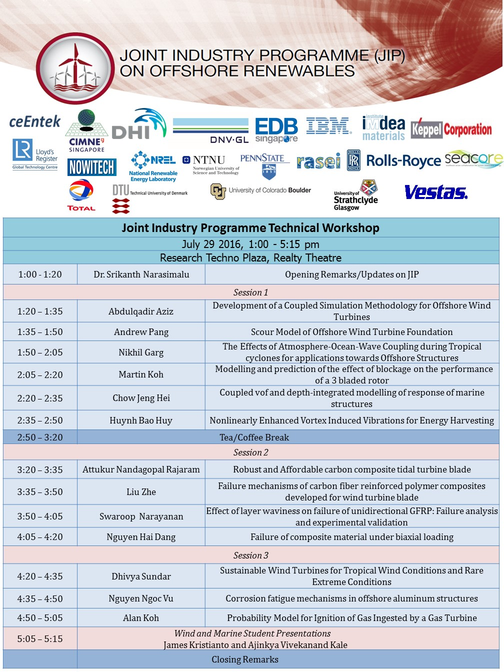 Joint Industry Programme Technical Workshop Agenda_v5 1