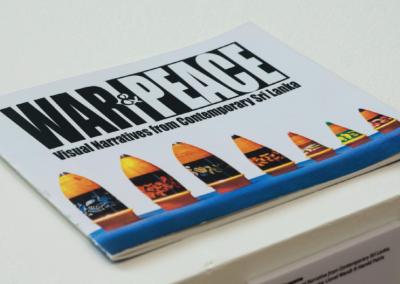War & Peace: Visual Narrative from Contemporary Sri Lanka (2013) by Sujatha Meegama