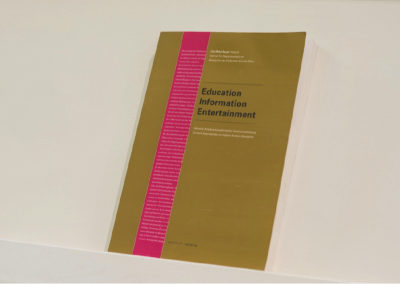 Education, Information, Entertainment: Current approaches on higher artistic education (2001) by Ute Meta Bauer